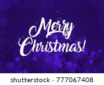 merry christmas wallpaper   Shutterstock . vector #777067408