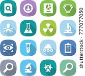 flat vector icon set   search... | Shutterstock .eps vector #777077050