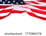 american flag. independence day.... | Shutterstock . vector #777080278