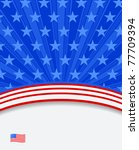 american flag background | Shutterstock .eps vector #77709394
