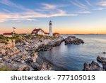 Portland  Maine  Usa At...