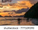 el nido  philippines   november ... | Shutterstock . vector #777109390