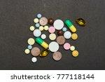 opioid epidemic .opioid pills.... | Shutterstock . vector #777118144