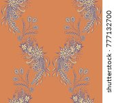 wallpaper rapport. seamless...   Shutterstock .eps vector #777132700