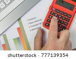 a close up of a man's hand...   Shutterstock . vector #777139354