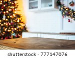 christmas holiday background... | Shutterstock . vector #777147076