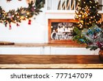 christmas holiday background... | Shutterstock . vector #777147079