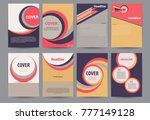 set of abstract element  for... | Shutterstock .eps vector #777149128