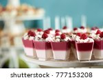sweet souffle decorated with... | Shutterstock . vector #777153208