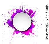 banner blot presentation ... | Shutterstock .eps vector #777153886