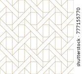 gold geometric simple...   Shutterstock .eps vector #777155770