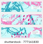 hand drawn creative universal... | Shutterstock .eps vector #777161830