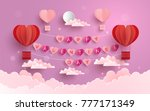 happy valentine day.... | Shutterstock .eps vector #777171349