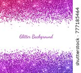 glitter background with pink... | Shutterstock .eps vector #777185464