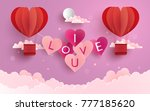illustration symbol of love... | Shutterstock .eps vector #777185620