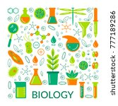 a set of scientific biological...   Shutterstock .eps vector #777189286