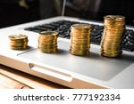 charts of financial instruments ... | Shutterstock . vector #777192334