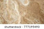 desert landscape   aerial top... | Shutterstock . vector #777195493