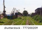 type of industrial district   Shutterstock . vector #777200209