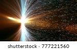 data transmission channel.... | Shutterstock . vector #777221560