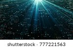 data transmission channel.... | Shutterstock . vector #777221563