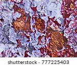 creative abstract background... | Shutterstock . vector #777225403