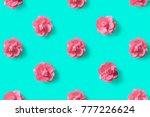 vibrant color pink flowers...   Shutterstock . vector #777226624
