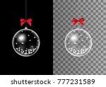 three dimensional transparent... | Shutterstock .eps vector #777231589