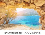 beautiful view of the turquoise ...   Shutterstock . vector #777242446