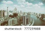 dubai   december 2016  aerial...   Shutterstock . vector #777259888