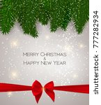 abstract beauty christmas and... | Shutterstock . vector #777282934