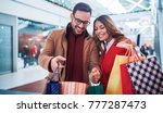 shopping time. beautiful young... | Shutterstock . vector #777287473