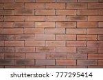 brick wall texture background | Shutterstock . vector #777295414