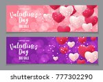 valentine's day love and... | Shutterstock .eps vector #777302290