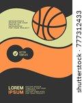 brochure or web banner design... | Shutterstock .eps vector #777312433
