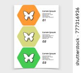 brochure or web banner design... | Shutterstock .eps vector #777316936