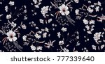 seamless floral pattern in... | Shutterstock .eps vector #777339640