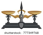 vector colored illustration  ... | Shutterstock .eps vector #777349768