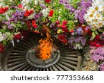 memorial to memory of unknown... | Shutterstock . vector #777353668