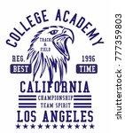 california los angeles college...   Shutterstock .eps vector #777359803