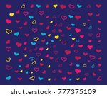 love background vector icon | Shutterstock .eps vector #777375109