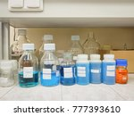 blue solution in chemical