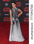 Small photo of LOS ANGELES - DEC 09: Jenna Ortega arrives for the 'Star Wars: The Last Jedi' World Premiere on December 09, 2017 in Los Angeles, CA