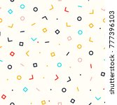 abstract simple geometry... | Shutterstock .eps vector #777396103