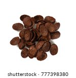 chocolate corn flakes | Shutterstock . vector #777398380