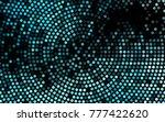 dark blue vector red pattern of ...   Shutterstock .eps vector #777422620