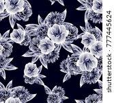 abstract elegance seamless...   Shutterstock .eps vector #777445624