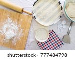 cookware on white table | Shutterstock . vector #777484798