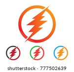 flash thunderblot electricity... | Shutterstock .eps vector #777502639