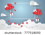 Valentine's Day Concept.balloon ...